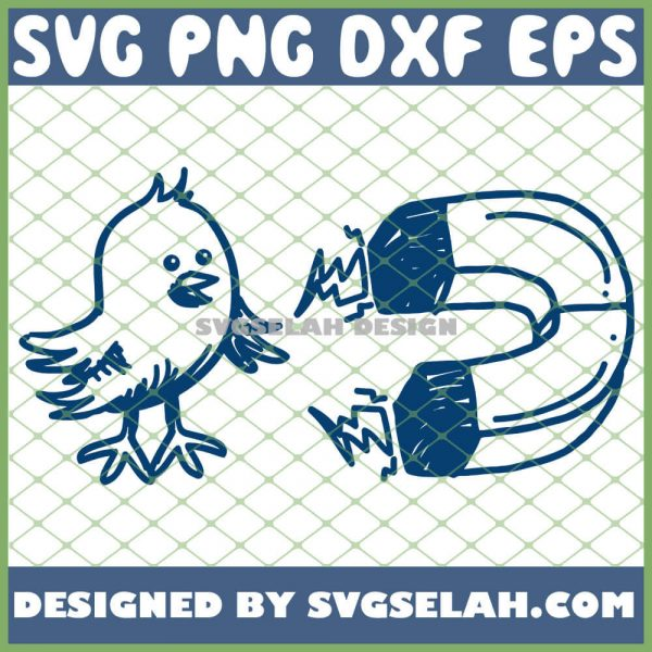Easter Cute Chick Magnet Baby Chicken SVG PNG DXF EPS 1