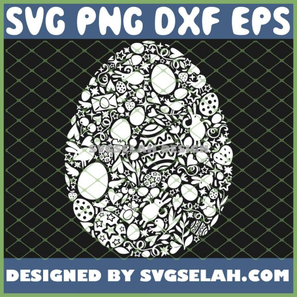 Easter Egg Hunt Matching Family SVG PNG DXF EPS 1