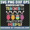 Easter Kindergarten Teacher Of The Most Awesome Peeps SVG PNG DXF EPS 1
