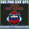 Easter Ninja Egg Hunter SVG PNG DXF EPS 1