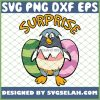 Easter Penguin Easter Eggs SVG PNG DXF EPS 1