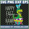 Easter T Rex Dinosaur Bunny Egg Costume Happy Eastrawr SVG PNG DXF EPS 1