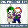 Friends Baby Pennywise It And Joker Funny Costume SVG PNG DXF EPS 1
