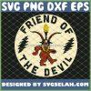 Grateful Dead Friend Of The Devil Logo SVG PNG DXF EPS 1