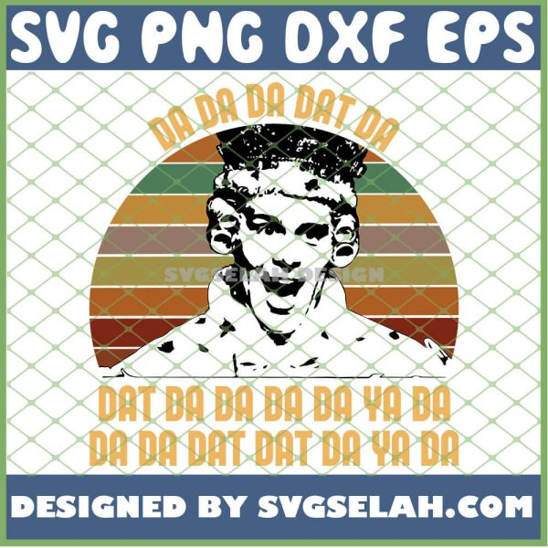 Hamilton King George Chorus Da Da Da Vintage SVG PNG DXF EPS 1