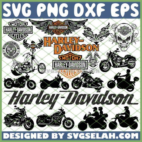 Harley Davidson SVG Bundle SVG PNG DXF EPS 1