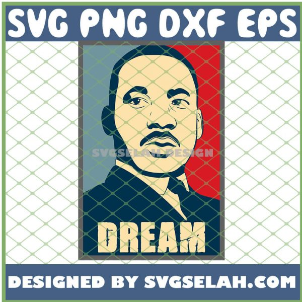 I Have A Dream Mlk Day SVG PNG DXF EPS 1