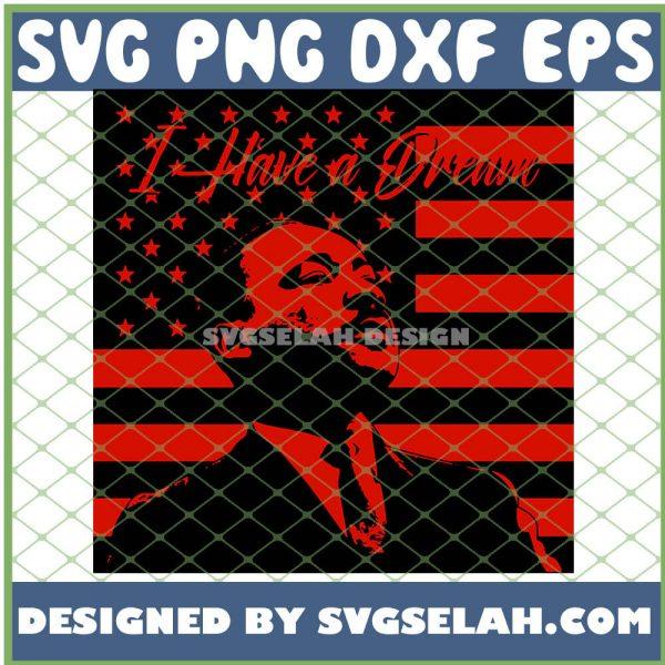 I Have A Dream Red Flag Mlk SVG PNG DXF EPS 1