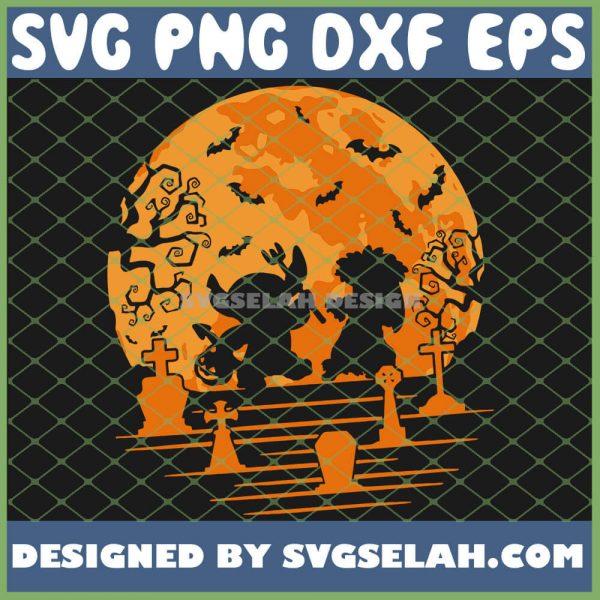 Lilo Stitch Halloween Disney SVG PNG DXF EPS 1