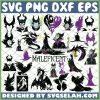 Maleficent SVG Bundle SVG PNG DXF EPS 1