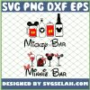 Mickey And Minnie Mouse Bar SVG PNG DXF EPS 1
