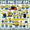 Minions SVG Bundle SVG PNG DXF EPS 1