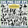 Peter Pan Silhouette SVG Bundle SVG PNG DXF EPS 1