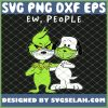 The Grinch And Snoopy Face Mask Ew People Costume SVG PNG DXF EPS 1