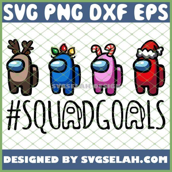 Reindeer Hord Light Candy Santa Christmas Among Us Squad Goals SVG PNG DXF EPS 1