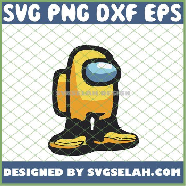 U Actin Kinda Sus Among Us Yellow And Black Jordan You Acting Kinda Sus SVG PNG DXF EPS 1