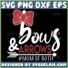 Bows And Arrows Mom Of Both Svg Mom Arrow Svg 1