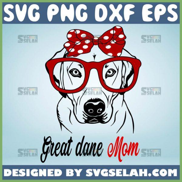 Golden Retriever Great Dane Mom Svg 1