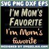 IM MomS Favorite Svg Bundle Mommy Loves Me Svg 1