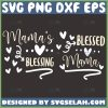 MamaS Blessing Svg Blessed Mama Svg 1