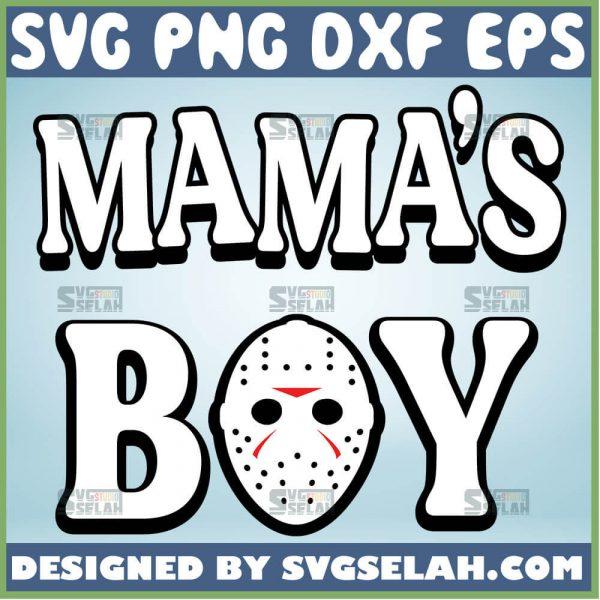 MamaS Boy Jason Svg Horror Movie Svg 1