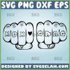 Mom Gang Svg Gangster Girl Svg Mother Fist Punch Svg 1
