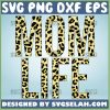 Mom Life Leopard Print Svg 1
