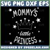 Mommy Little Princess Svg Crown With Heart Svg 1