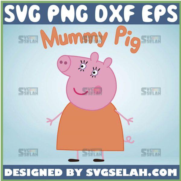 Mummy Pig Svg Mommy Pig Svg Peppa Pig Svg 1