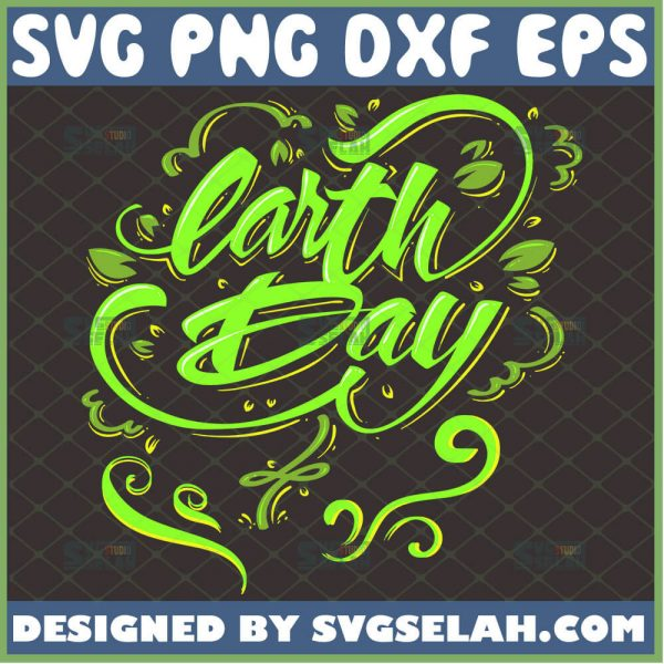 Earth Day Svg Nature Lover Svg Mother Happy Planet Svg 1