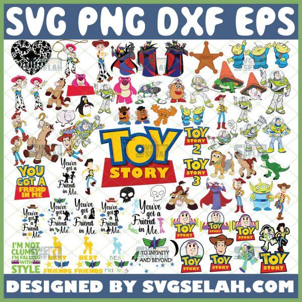 Disney Toy Story Svg Bundle Colorful 1