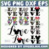 Love Disney Svg Bundle Love Mickey And Minnie Mouse Svg 1