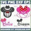 Mickey And Minnie Bride And Groom Svg Disney Wedding Svg Couple Svg 1