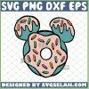 Mickey Donut Svg Doughnut Svg Donut Birthday Svg Disney Food Svg 1