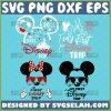 My First Disney Trip Svg Bundle Minnie Mickey Head With Castle Svg 1