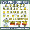 Toy Story Font Svg Disney Alphabet Svg 1