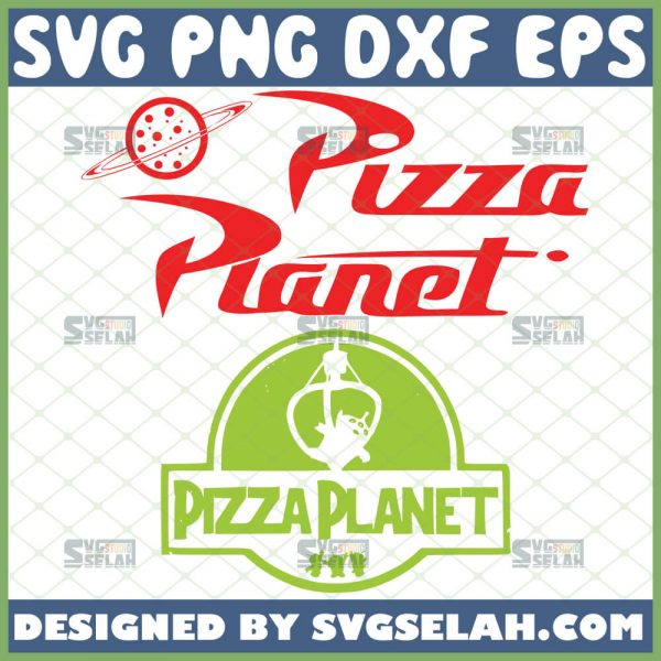 Toy Story Pizza Planet Svg 1