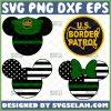Us Border Patrol Logo Svg Green Disney Usa Flag Svg Mickey And Minnie Svg 1