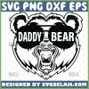 angry daddy bear head svg diy gift ideas for dad 1