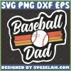 baseball dad svg fathers day design for cut table sport gift ideas for dad 1