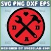 dad tool svg hammer and wrench crossed tools svg 1