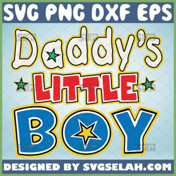 daddys little boy svg diy fathers day crafts for toddlers 1