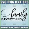 family is everything svg Wall Decor svg Canvas Art svg saying home decor 1