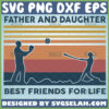 softball father and daughter best friends for life svg vintage diy gift ideas for sport lovers