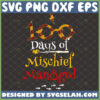 100 days of mischief managed svg harry potter inspired gifts