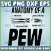 anatomy of a pew svg gun rights molon labe svg 2nd amendment bullet svg ammo svg