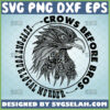 crows before bros support your local murder svg diy gifts for raven crow lovers