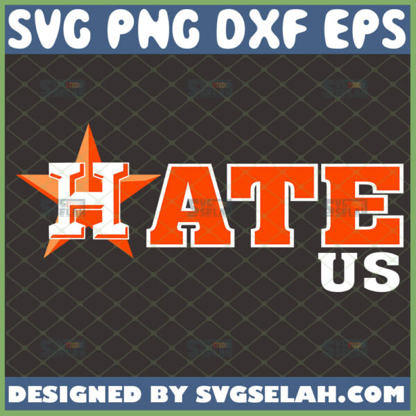 hate us astros svg mlb logo baseball svg
