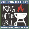 king of the grill svg fathers day apron design ideas for grill master