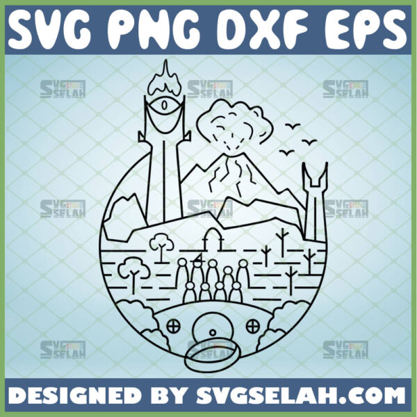 lord of the rings svg